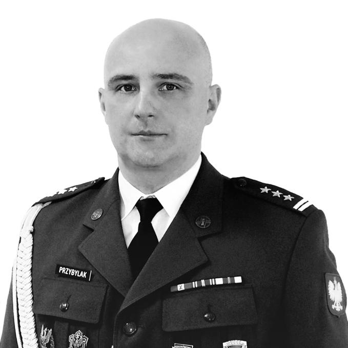 Pułkownik Przemysław Przybylak